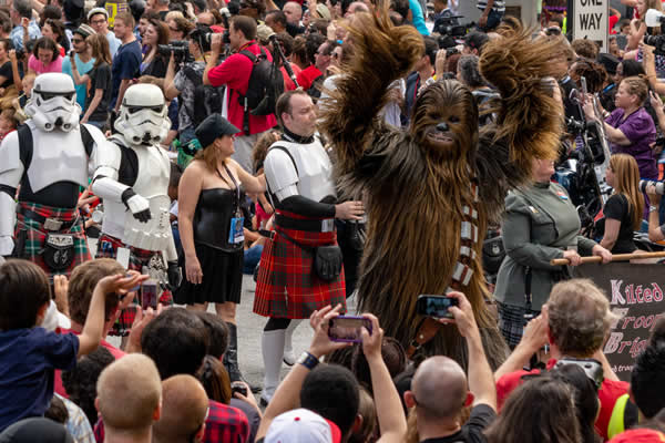 Chewbacca at Dragoncon